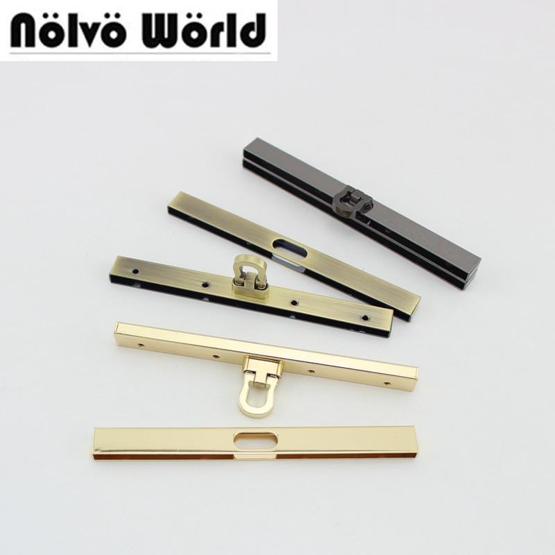 4 Uds 3 colores 11,5 cm 4,5 pulgadas 8 tornillos monedero marcos bolso manija bolso metal marco accesorio, cierre de beso para pequeños marcos de monedero cartera