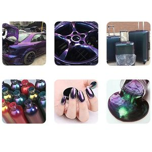 Image 5 - 1 пакет, пигменты, акриловые краски, жемчужное порошковое покрытие для автомобилей, автомобильная живопись, 10 г