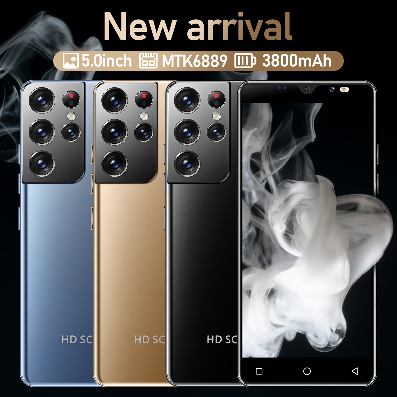 5.0 Inch Celular Galxy S30 Ultra 4GB 64GB 12MP+24MP Android 3800mAh 11 Core Really Telephone MTK6889 5g Cellphones Smartphones