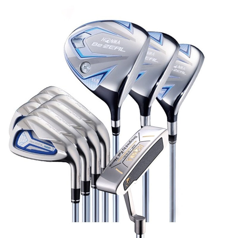 HONMA Golf Club Set 525 HONMA BEZEAL 525 Ladies Golf Club Set, 12 packs, with 12 top covers