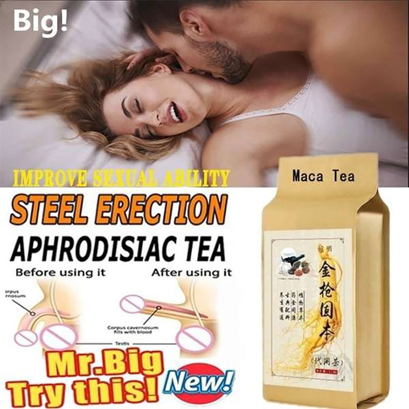 All Natural Tonic Tea Viagra for Men Increases Sexuality Improve Sexual Function Strong Erections Ma