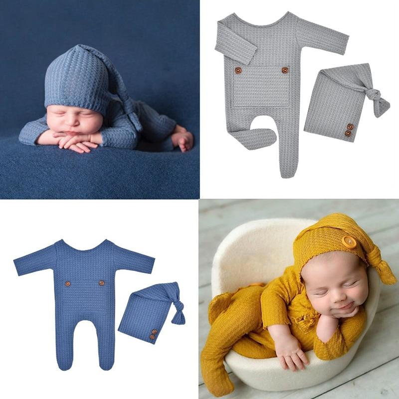 Комбинезоны для новорожденных; Боди для новорожденных Подставки для фотографий Детские боди для новорожденных, комплект для фотостудии дл...
