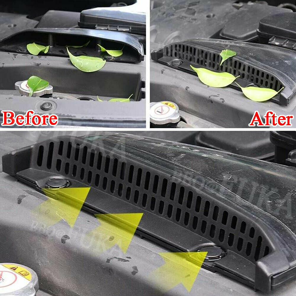 Car Engine Air Vent Outlet Protective Cover For Mitsubishi Outlander 2013-2019  - buy with discount