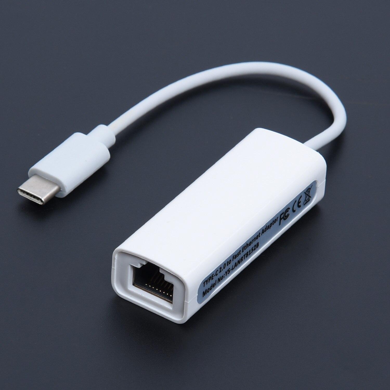 USB 2,0 tipo C USB-C a RJ45 100Mbps Ethernet LAN Cable adaptador de red 100Mbps TRANSMISIÓN Tipo C ordenador portátil/tableta ventana XP/7/8