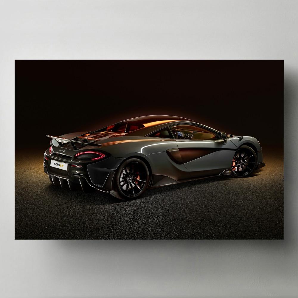 Sports Car Posters Mclaren 600lt Supercar Wallpaper HD Prints Canvas Painting Art Modern Wall art Picture Home Decorations