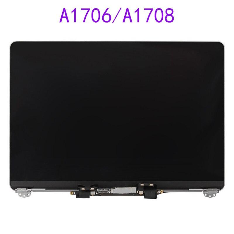 Pantalla LCD A1708, pantalla LCD A1706, montaje completo para Macbook Retina, pantalla A1706 A1708 plateada, espacial, gris, 2016, año 2017