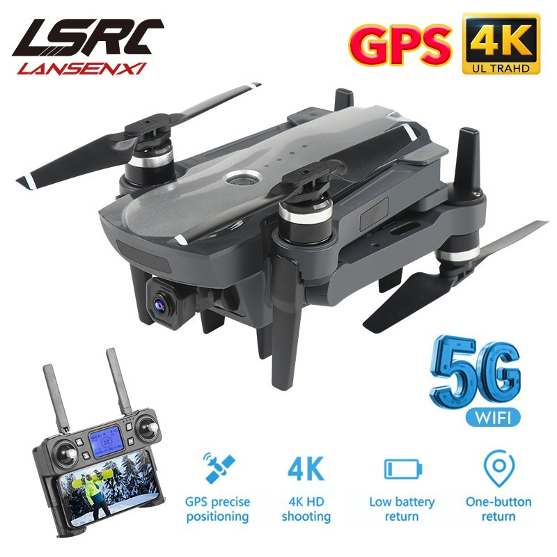 LSRC K20 Drone GPS 5G HD 4K Camera Professional 1800m Image Transmission Brushless Motor Foldable Qu