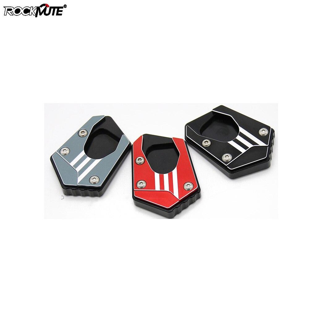 Placa de pie lateral soporte motocicleta CNC Kickstand ampliación para HONDA CBR650R CB650R CBR500R CB500F CB500X RX125/SDH125T-31EX125