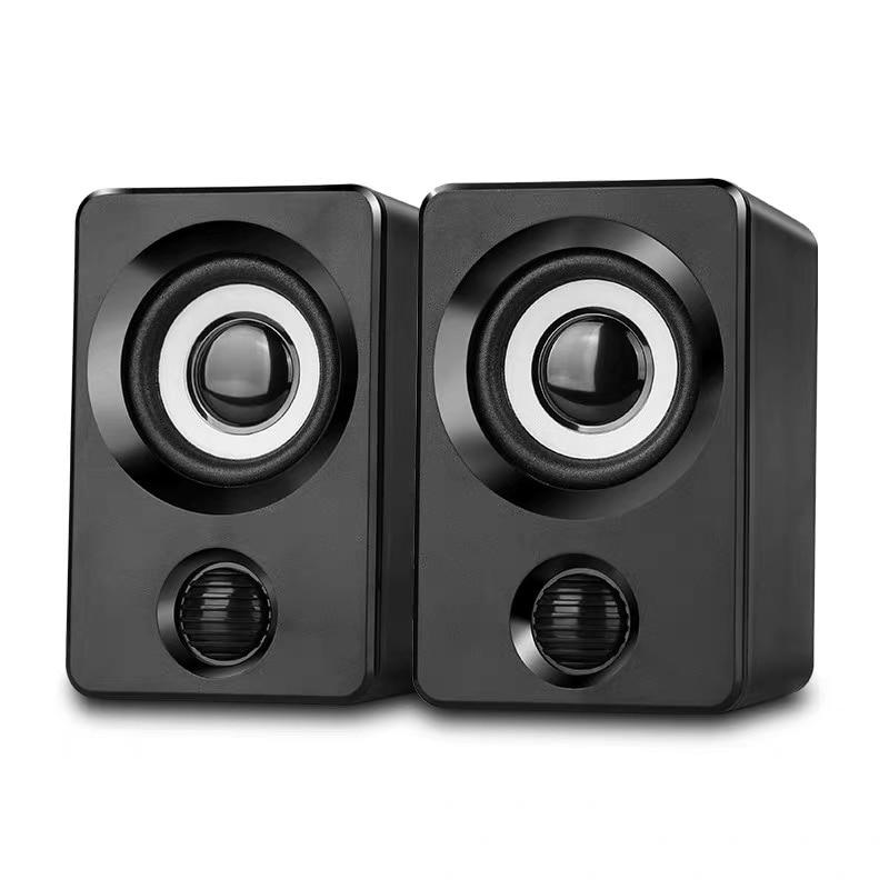 Produzido Multimedia Speaker Surround Alto-falantes Estéreo com USB Com Fio para PC/Laptops/Smart Telefone