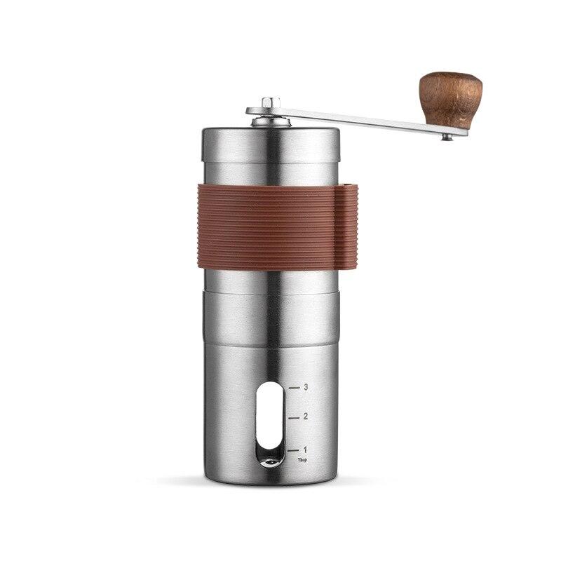 Iأيديا-مطحنة قهوة يدوية محمولة ، مخروط ، محسّن ، مطحنة يدوية جديدة من الفولاذ المقاوم للصدأ 304