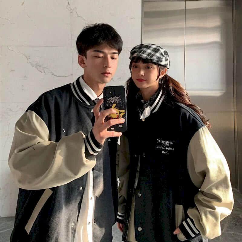 أزياء بيسبول للرجال والنساء 2021 ربيع الخريف جديد الكورية فضفاض الأزواج موضة هونغ كونغ نمط سترة الرجال سترة