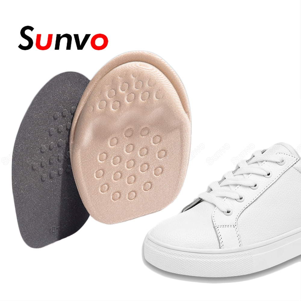 Sunvo Women Anti Slip Forefoot Insoles for High Heels Shoes Size Reducer Foot Toe Pad Shoe Filler In