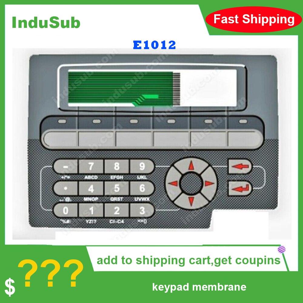 E1012 نوع 06870 لوحة مفاتيح غشائية لوحة المفاتيح التبديل E1012 نوع 06870