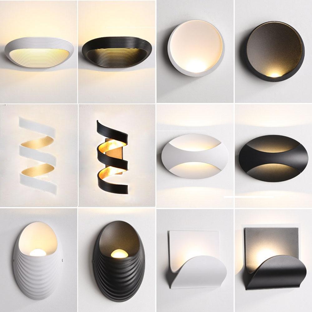Aplique-Aplique Led de Pared, lámpara de Pared moderna, apliques de Pared, Mural...