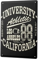 since 2004 tinplate retro los angeles athletic
