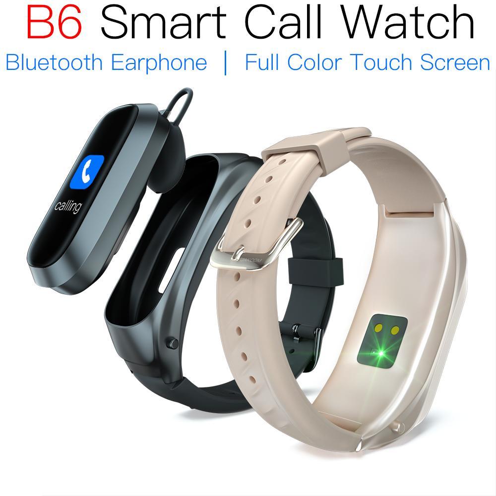 B6 ساعة ذكية الرجال مع بلوتوث سماعات القلب رصد معدل ل mi الفرقة 4 حزام جهاز تعقب للياقة البدنية سماعة ساعة مقاوم للماء