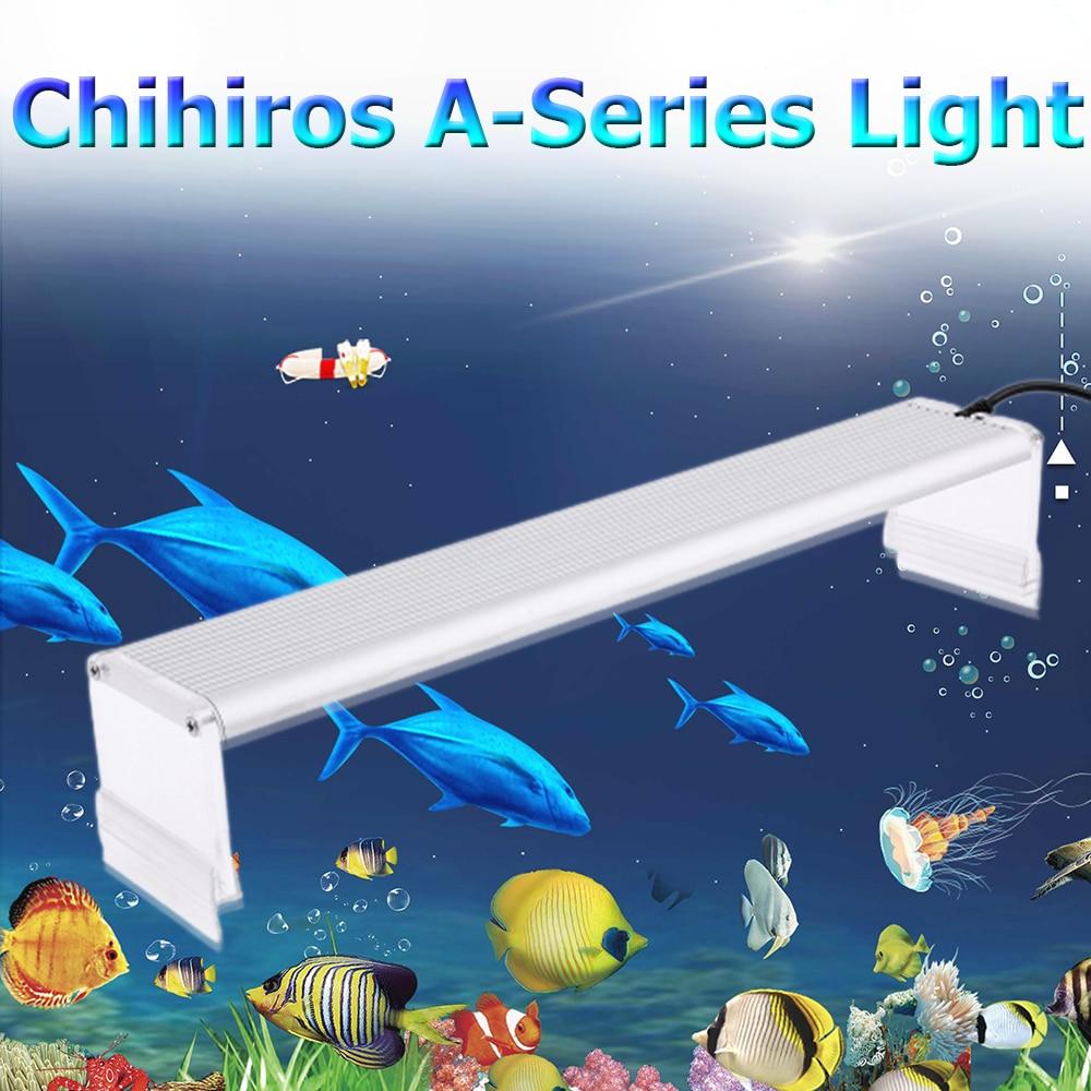 Chihiros A-Series Aquarum LED Light Fish Tank Aquatic Plant Grow Lighting Waterproof Bright Clip on Lamps 20-50cm AC100-240 Volt