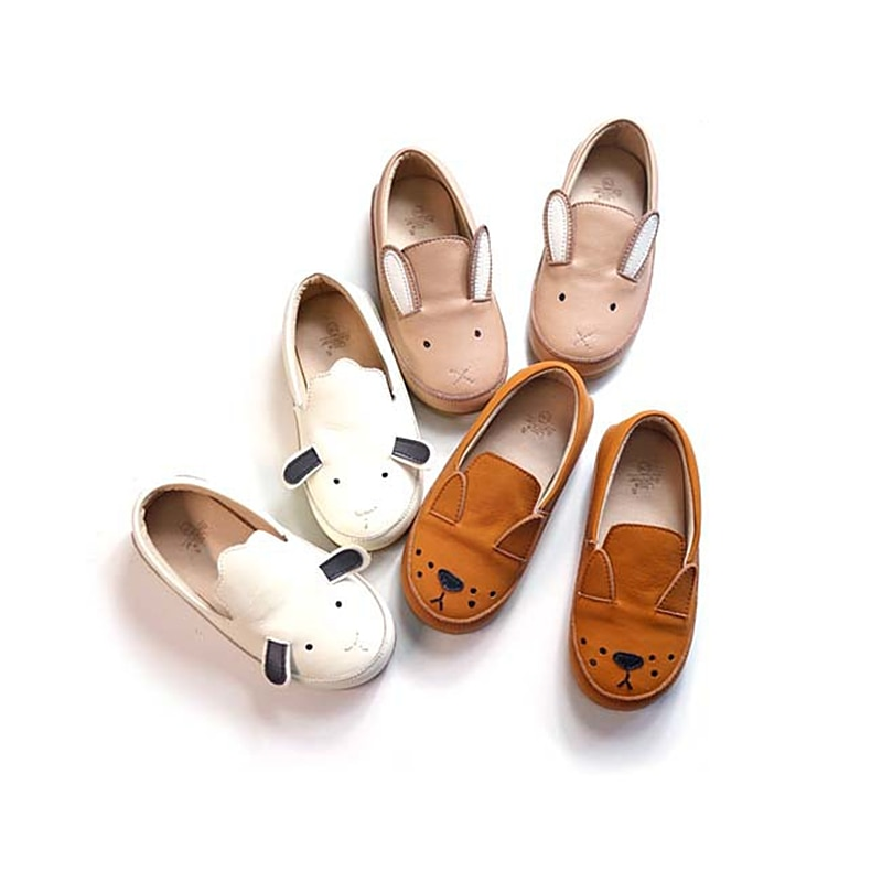New Cartoon Children's casual shoes Genuine Leather Fashion girl shoes Boys School shoes 5T 6T