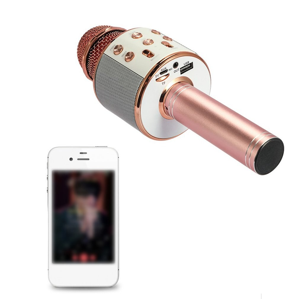 Home KTV Computer Microphone Singing Live K Song Microphone Audio Condenser Durable Practical Wireless Microphone enlarge