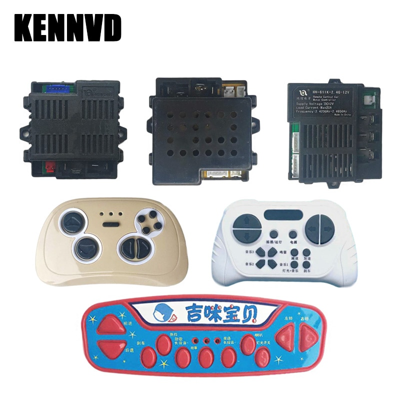 HH670K/HH6188K/HH621K/HH150K Remote Control for Children's Electric Cars, Kid's Electric Vehicle Bluetooth Controller