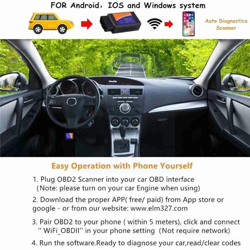 Автомобильный детектор неисправностей автомобильный диагностический инструмент считыватель кодов инструменты детектор Автомобильный ди...