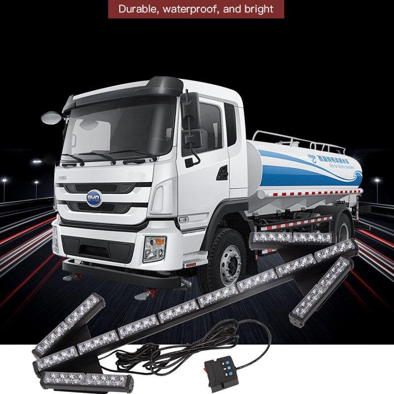 64LED Bright Flashing Strobe Car Arrow Lights Traffic Safety Warning Lamp Construction Sprinkler Truck Road Indicator 12V-24V enlarge