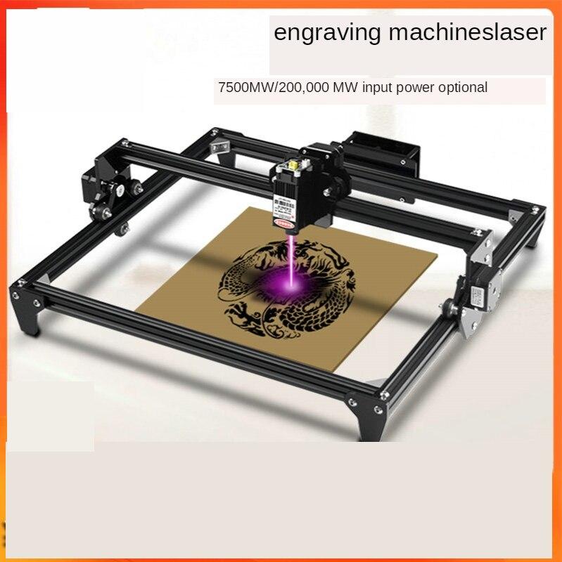 آلة النقش بالليزر CNC ، 300 × 400 مللي متر ، مساحة كبيرة 2.5/5.5W ، سرعة عالية ، لقطع الخشب والجلد والمعدن والأكريليك