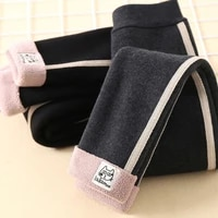 winter girls pants thicken leggings toddler baby warm outer wear pants childrens pants 9m 6t