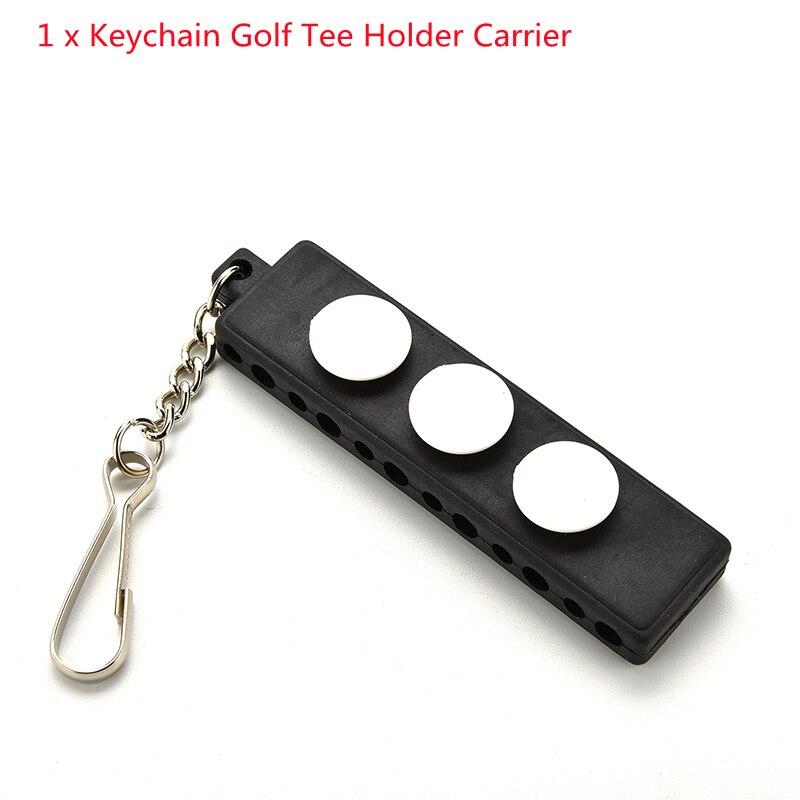 Лидер продаж, 3 маркера с брелоком, аксессуары для гольфа, держатель для футболки