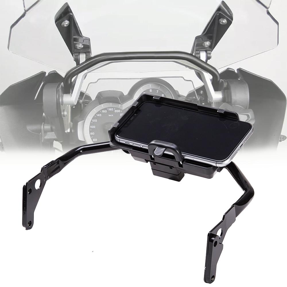 For BMW R1200GS R1250GS R R1200 GS ADV LC R1250 GS GSA R 1250 Phone Navigation Bracket Plate GPS Stand Holder