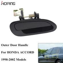 Hoping Auto Outer Door Handle For HONDA ACCORD 1998 1999 2000 2001 2002 CF9 CG5 CG1 External Door Handle Black Color