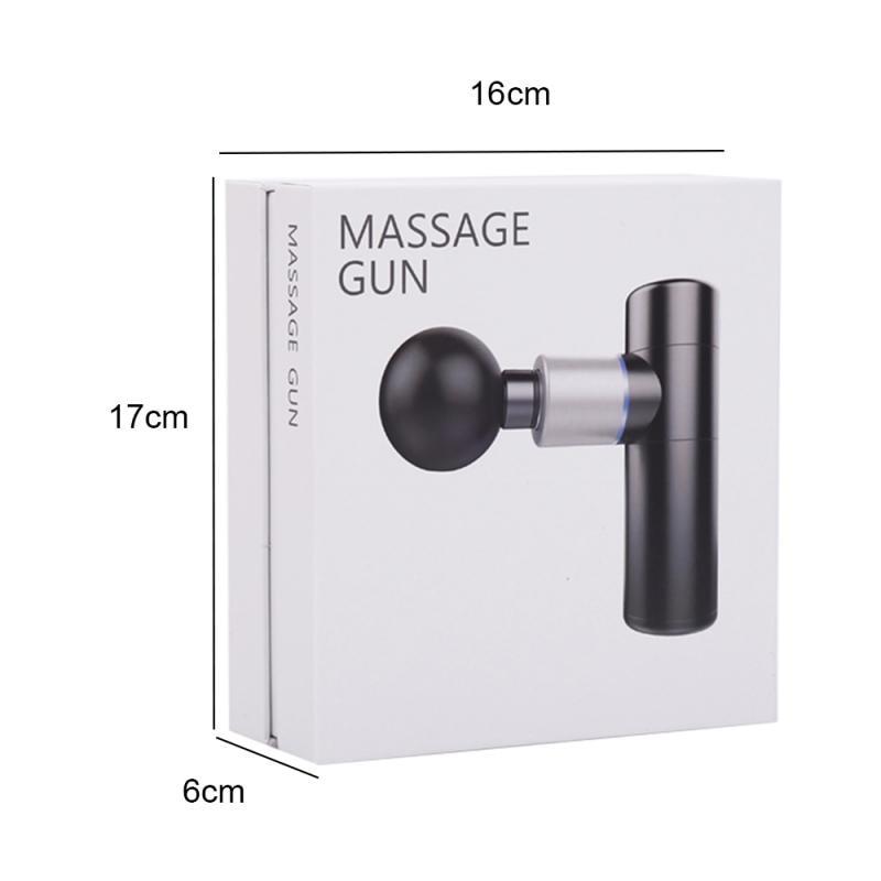 4 Heads Muscle Massage Gun 30 Speeds Percussive Vibration Therapy Deep Tissue Massager Relax Pain Relief Fascia Massage Machine