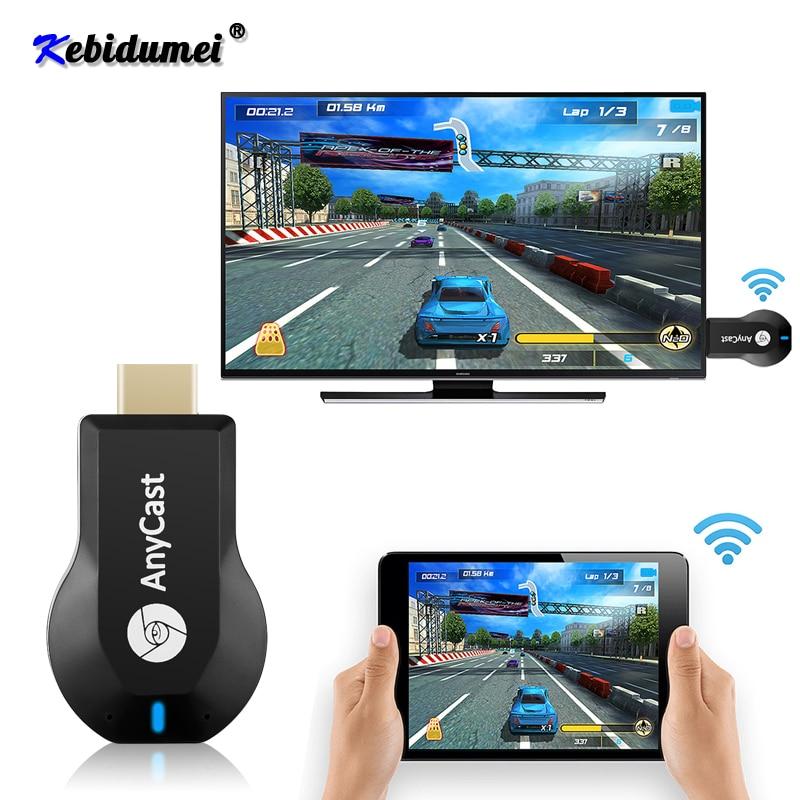 Nouveau M2 Plus sans fil HD Wifi affichage TV bâton 1080P partager adaptateur de Dongle pour DLNA Mirascreen récepteur Support Android Linux