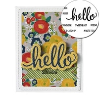 hello sweetheart stamp 2021 photo album decorative clear stamp phrases about hello