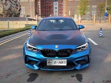 2015-2019 Z-ART M2 CS محرك بونيه لسيارات BMW M2 GTS غطاء محرك الألومنيوم لسيارات BMW F87 M2 المنافسة CS غطاء المحرك