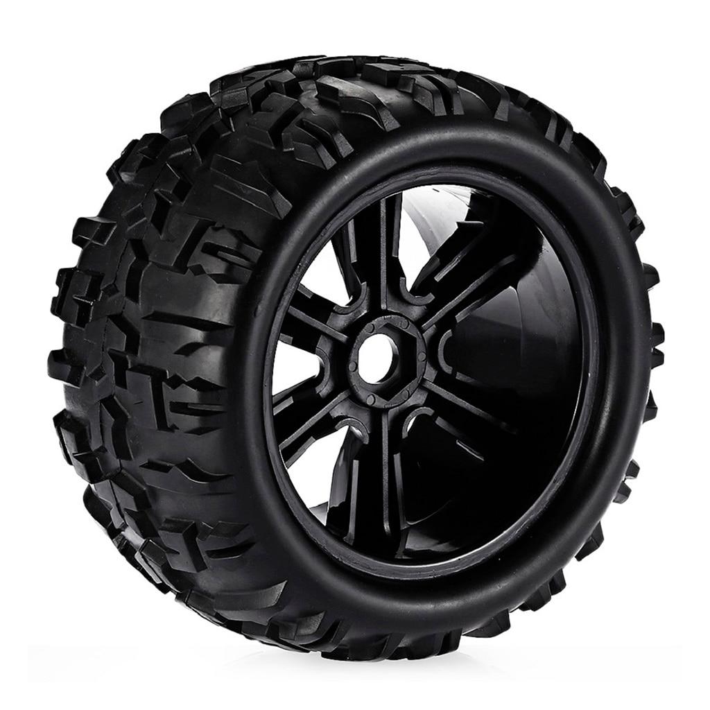 Rock Crawler Car Rubber Tyres For 1/8 HSP Louise HPI Savage Flux Spare Parts enlarge