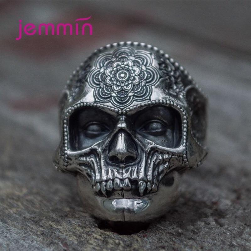 Новое-преувеличенное-кольцо-в-виде-черепа-с-лицом-призрака-мужское-готическое-кольцо-в-стиле-панк-аксессуары-вечерние-ювелирные-изделия