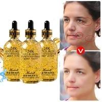 24k gold shrink pores moisturizing essence niacinamide original liquid anti aging face serum face care 30ml