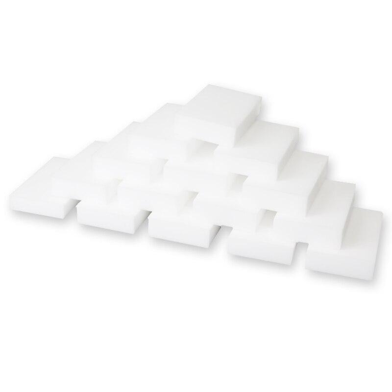 100 шт белая меламиновая Губка 100*60*20 мм волшебная губка Ластик для кухня, ванная, офис принадлежность для чистки/мытья посуды Nano Tech