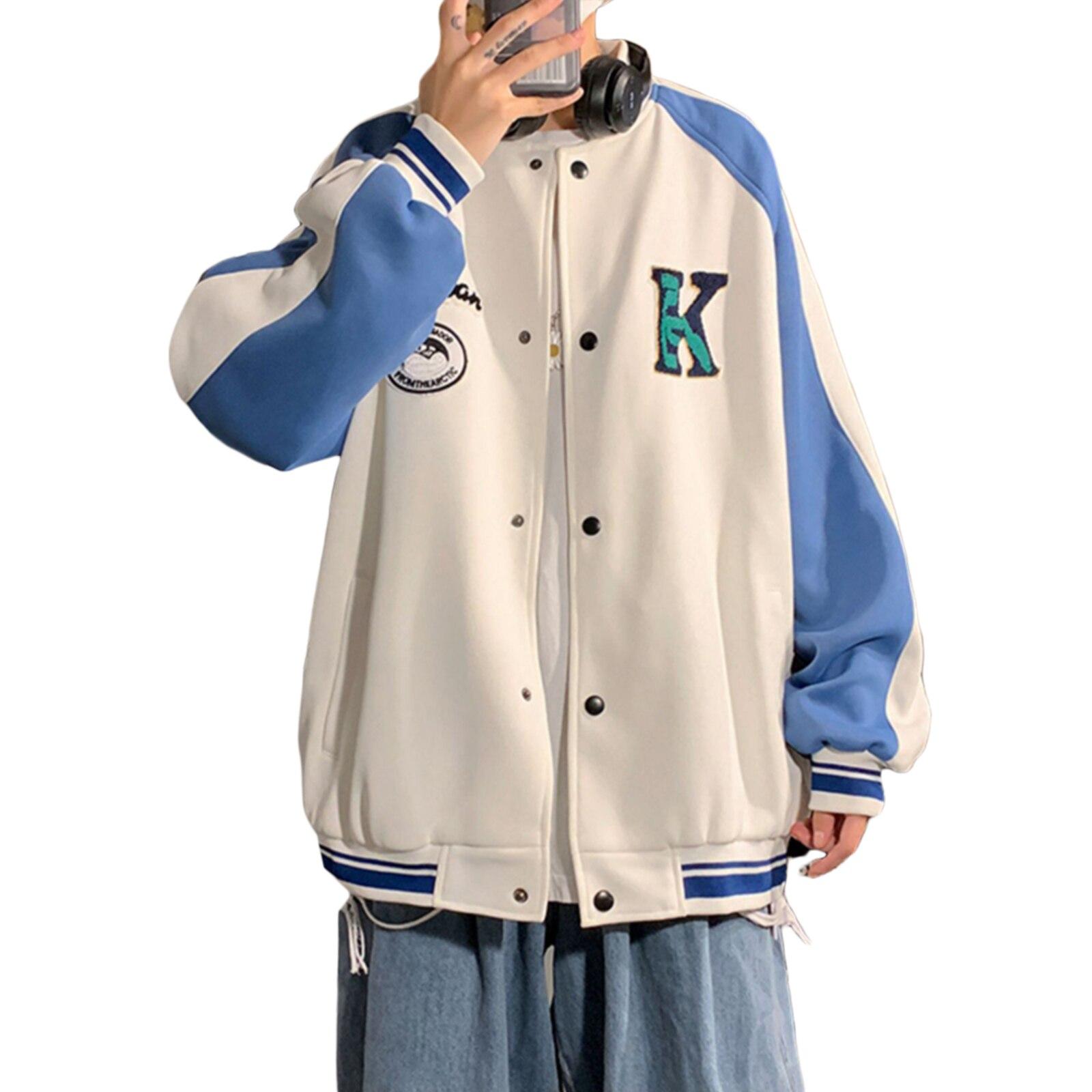 Женская бейсбольная куртка в стиле хип-хоп с вышивкой, куртки-бомберы большого размера с длинным рукавом, лоскутные куртки-бомберы
