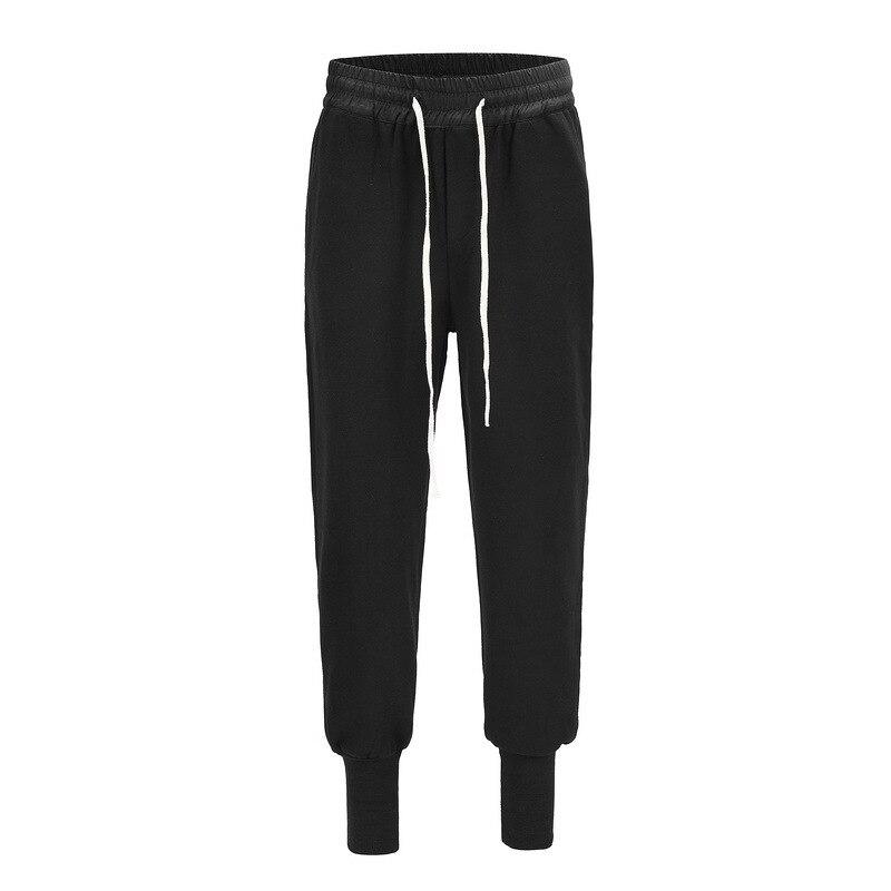 Джоггеры с завязками в стиле Хай-стрит, уличная одежда, мужские Джоггеры в стиле хип-хоп, брюки в стиле хип-хоп, шаровары в стиле Харадзюку