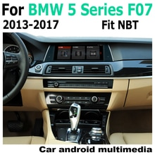 Lecteur multimédia de voiture Android   10.25 pouces, pour BMW séries 5 F07 GT 2013-2017 Navigation, Navi GPS BT, Support stéréo de Radio WiFi 4G 3G