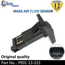 XUAN MAF MASS AIR FLOW METER SENSOR PE01-13-215 For Mazda 3 6 CX-3 CX-5 CX-9 MX-5 Miata 2.0L 2.3L 2.5L 2012-2014