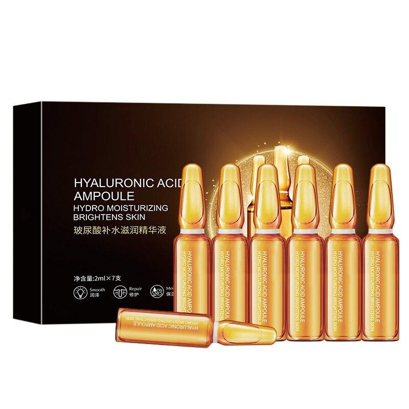 Vitamin C Face Serum Hyaluronic Acid Ampoule Moisturizing Essence Refreshing Shrink Pore Firming Skin Essence Skin Care недорого