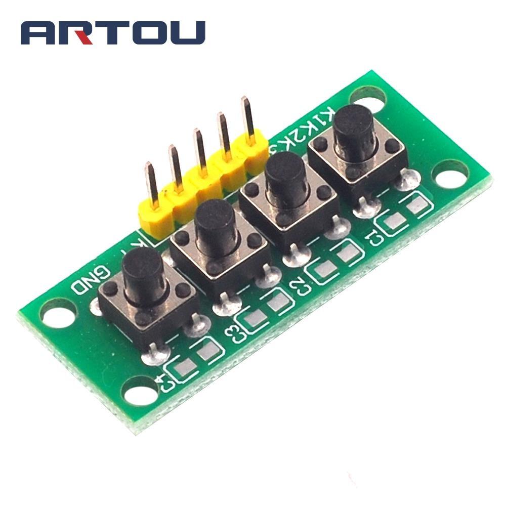 Плата Mcu для Arduino, модуль клавиатуры с 5-