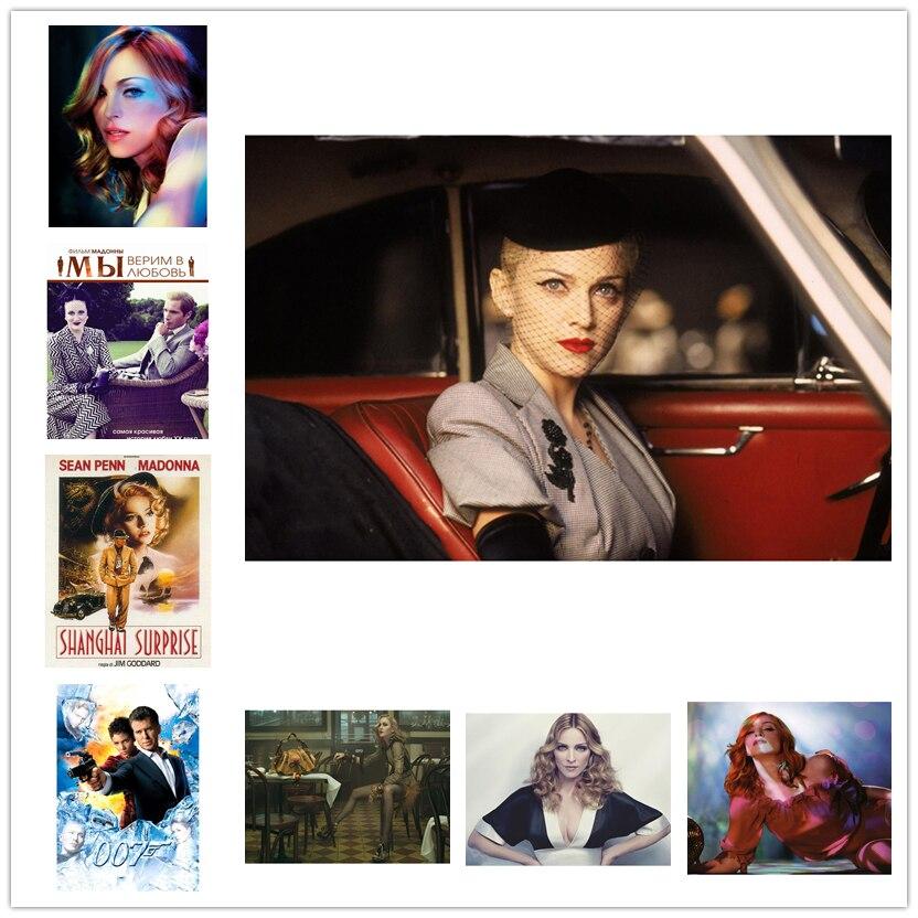 Diamante Bordado Ponto Cruz DIY Pintura Diamante Elegante Madonna TV show de Diamante Mosaico Strass presente Decor Home WG1466
