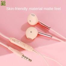 HiFi earbuds In-ear headphones Sport earpods stereo Wired earphones Subwoofer line controlear buds g