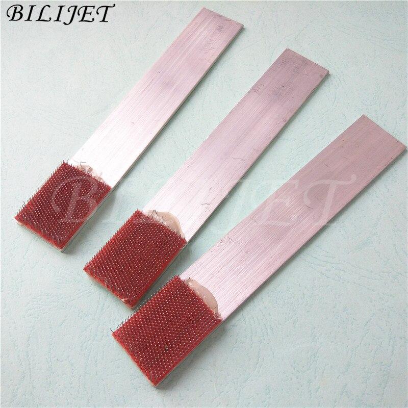 Unidad de limpieza de máquina de impresión offset de calidad, cepillo de acero para Mitsubishi Man Roland KBA Roybi Card clothing textile brush