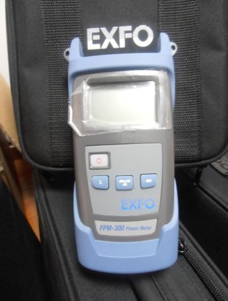Original EXFO FPM-300 Fiber Optical Power Meter FPM-302-XX Optic Cable Tester Multimeter Ge Detector