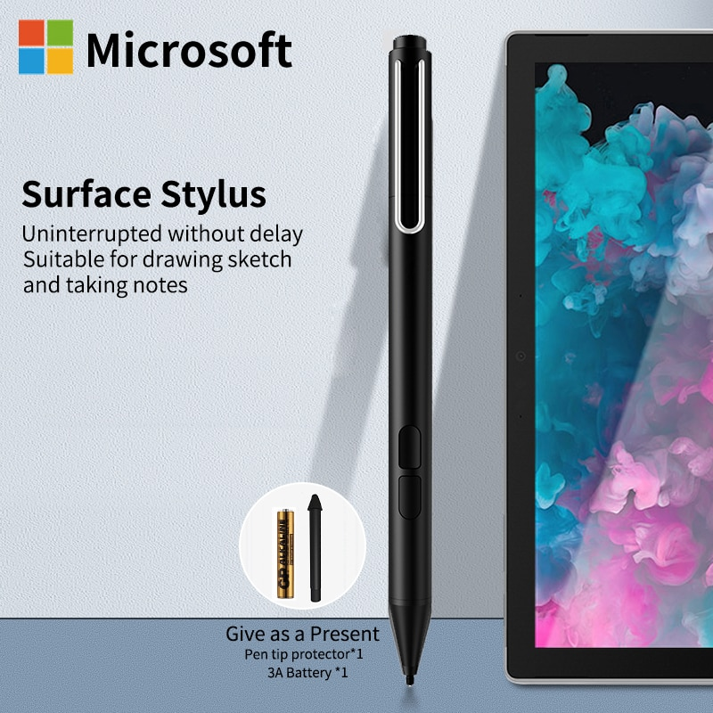 Active Stylus Pen For Surface Pro7 Pro6 Pro5 Pro4 Pro3 Tablet Touch Screen Pen For Microsoft Surface